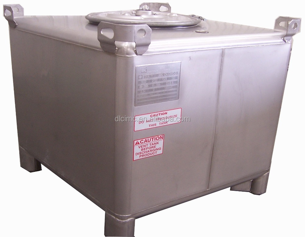 High Quality SS304 IBC Container  IBC Tank For Chemical Goods or dangerous liquid storage or transport