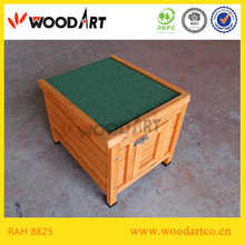 Outdoor Handmade portable wooden rabbit hutch