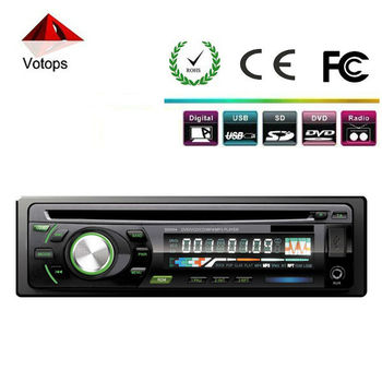 Universal Detachable single din car dvd player with mp3