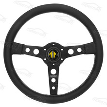 14 inch high quality pvc leather 350mm drift steering car wheel , famous brand custom racing steering wheels