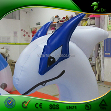New Design Sexy Giant Inflatable Blue Dragon, Flying Baby Inflatable God Of The Sea, Hongyi Inflatable