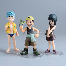 supplier make custom moulding action figure/custom made injection pvc figurine toy/custom cool anime action figure