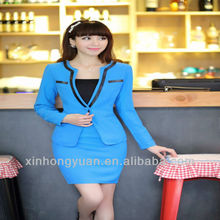 custom design office lady uniforms