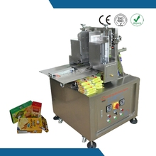 Operation specifications and reduce material loss cheese wafer carton box sealing machine