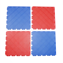 New design interlocking polyurethane outdoor modular floor tile plastic pp multi badminton sport flooring tiles