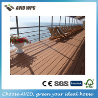 High quality and Beautiful design wpc outdoor decking/composite outdoor flooring