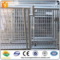 Wholesale galvanized cheap dog kennelsdog cagespet cages with best quality and price Huilong factory direct
