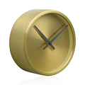 17.8cm fashion and simple office decorative wall clock Contemporary gold wall clock