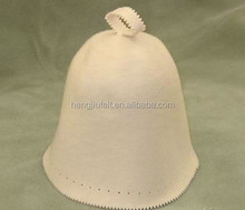Sauna wool felt hat