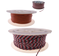 Futaba /JR Color 22AWG Servo Extension Cable/ Twisted Wire 500M/ Roll