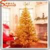 Artificial Christmas Tree Snow Yellow Artificial Christmas Tree