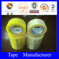 bopp packing tape solvent