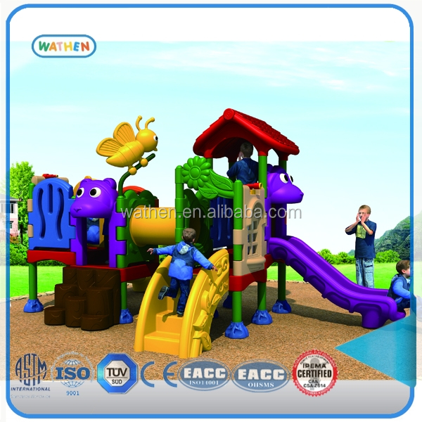 China GS Certificate Kindergarten Colorful Kids Play Outdoor Playground Equipment