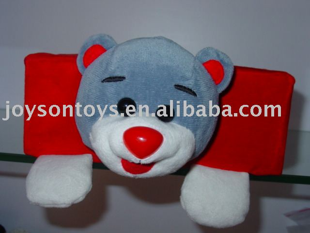 stuffed animal shaped cover for napkin box