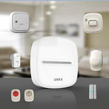 Interconnected Zigbee smart home automation system with WIFI ANKA