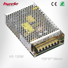 HS-150W Single output SMPS from zhejiang yueqing china with CE ROHS KC certification