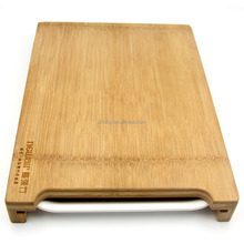 Rectangular Bamboo Vegetable Cutting Board with Drawer and Cutting Board with tray