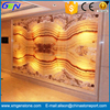 Popular Interior Wall Setting Beautiful Cream Onyx Marble