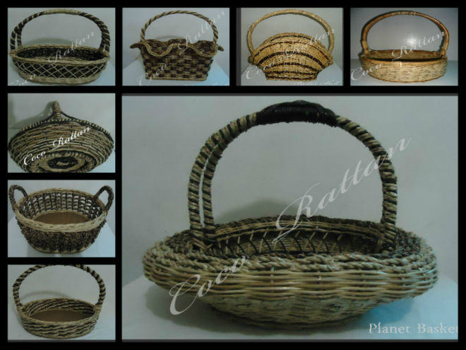 different kind of basket
