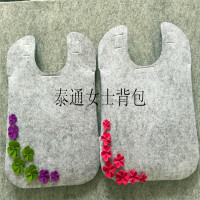 Top quality felt women purse