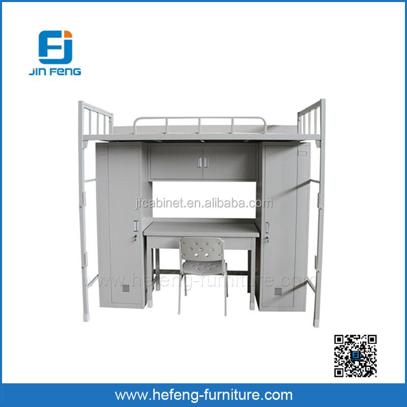 Bunk Bed With Desk And Wardrobe Buy Bunk Bed Metal Bunk