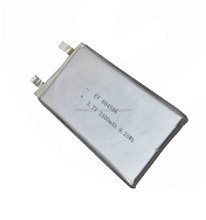 3.7V 2500mAh rechargeable lithium polymer battery for POS terminal, PDA
