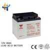 12V 38AH dry-charged battery sealed deep cycle battery
