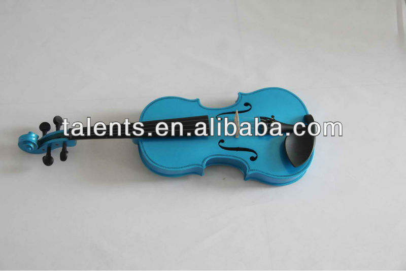 colorful plywood violin practice violin for children