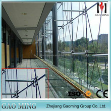 Heat insulation pointed glass curtain wall