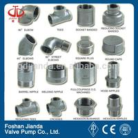 oil piping system grooved pipe fittings