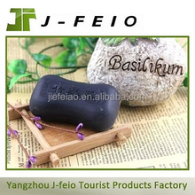 Customize cheap hotel soap, bamboo charcoal soap