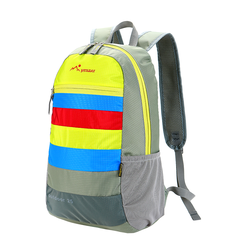 2017 Waterproof wholesale light weight foldable backpack school backpack travel backpack made in China supplier