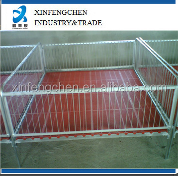 pig nursing crate fence