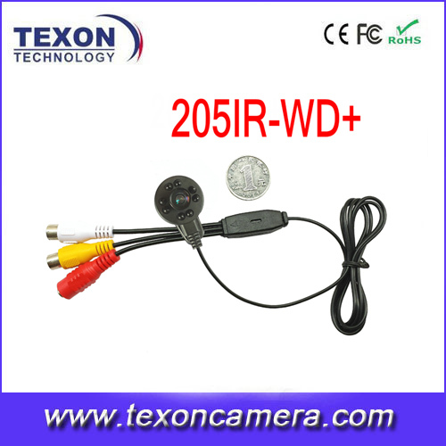 700TVL Micro CCTV Security Video Camera With Audio Home 1.8mm Wide view angle 170