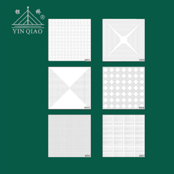 Standard ceiling tiles