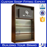 high end display cabinet, sign wooden sculpture stand