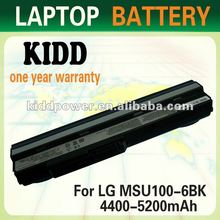 Rechargeable laptop battery BTY-S11 For WIND U100 Advent 4211 Medion E1210 Series