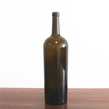 cork top 1500ml Bordeaux glass wine bottle