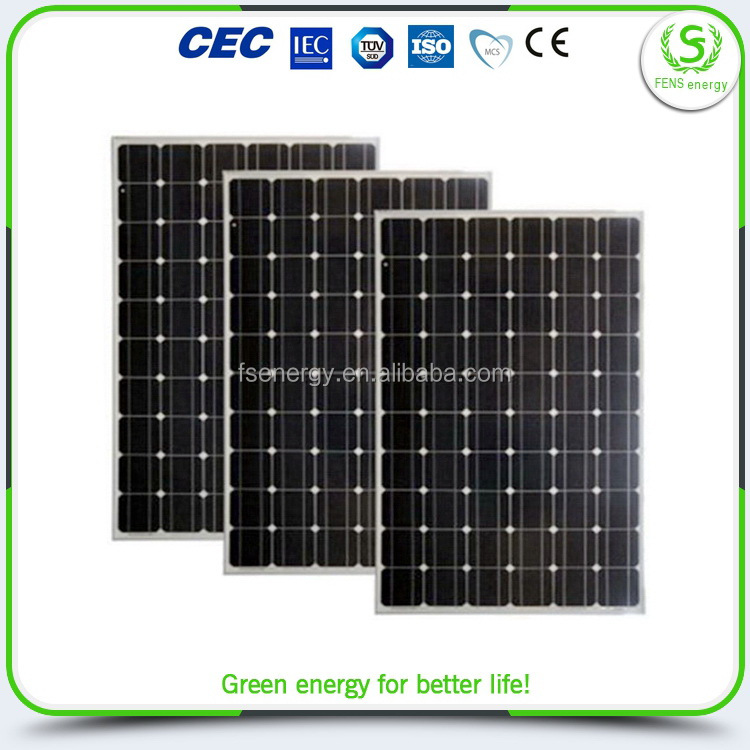 China manufacture new design solar panel for yiwu 250w
