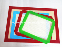 Sedex factory hot sell new product silicone fiberglass baking mat