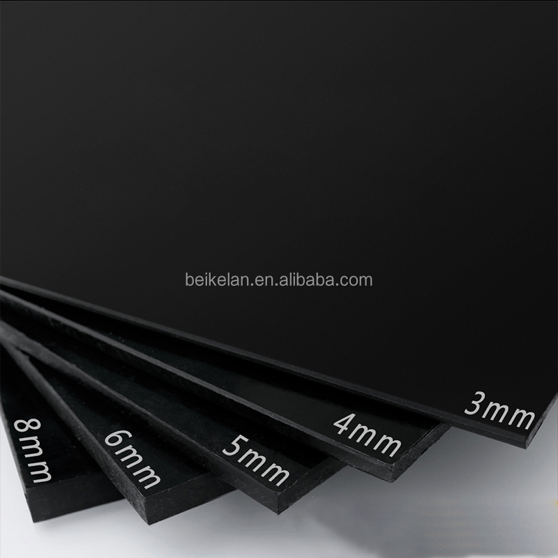 hot sale white 2mm 6mm 10mm High quality black pp plates polypropylene sheet manufacture wholesale