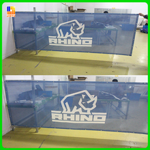 mesh banner, mesh fence signs, mesh sporting barricade signage