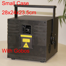 High power 3.5W RGB full color Laser Animation Projector laser light