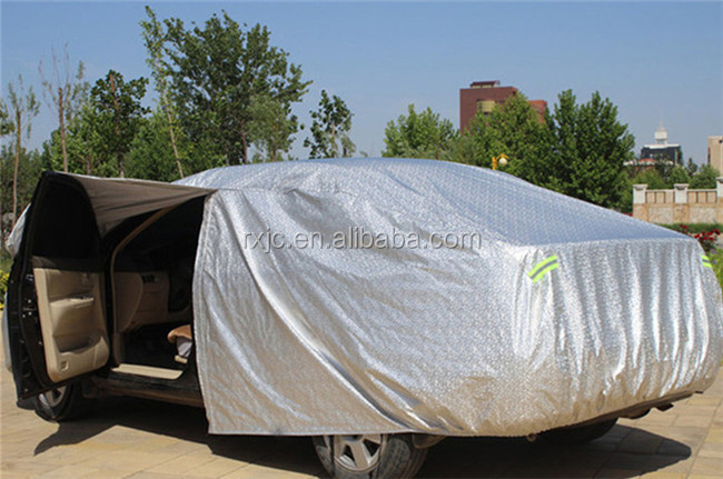 Outdoor inflate car cover hail proof suv cover