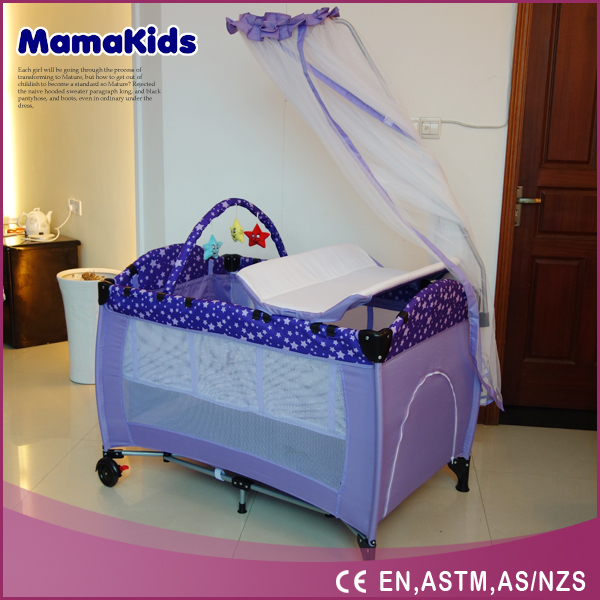Baby's Folding Bed : New Baby Bed,Baby Playpen Baby Folding Travel Crib With Mosquito Net ...