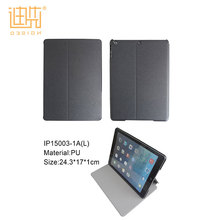 Many color available custom logo / size rugged shockproof tablet cover flip stand pu leather case for ipad