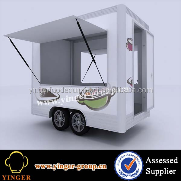 ausatralia standard scooter trailer mobile food vending trailer for sale