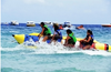 Ace OEM Inflatable single and double row banana boats for sale!