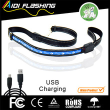 LED dog leash Flashing in darkness safety decoration lighting pet products