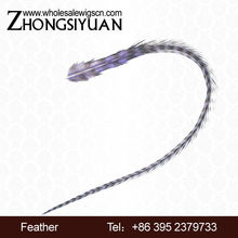hot sale rooster saddle feathers wholesale hair extensions
